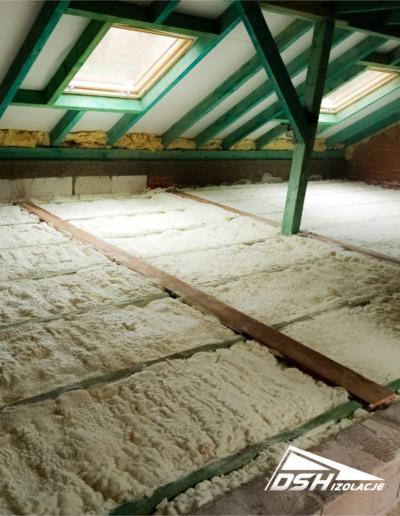 Ocieplenie stropu przed wylewką